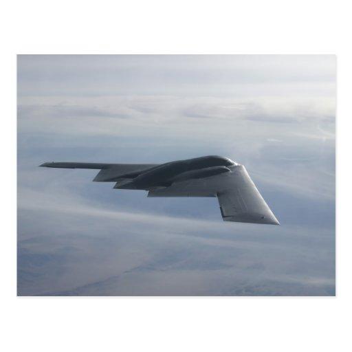 B-2 alcohol - bombardero de la cautela postales
