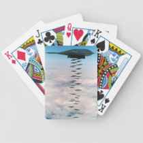 B-2 Bomber Bicycle Playing Cards