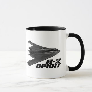 B-2 Spirit 11 oz Ringer Mug