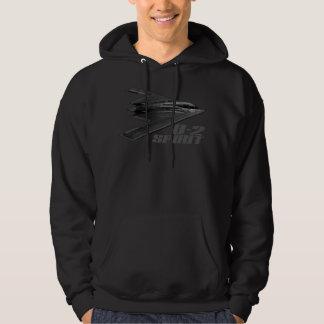 B-2 Spirit Men's Basic Hooded Sweatshirt