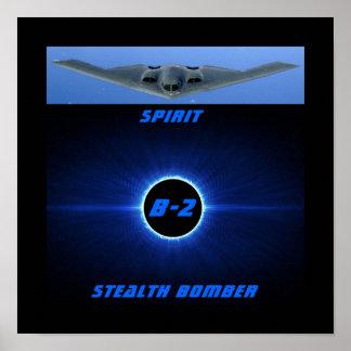 B-2 Spirit / Stealth Bomber Poster