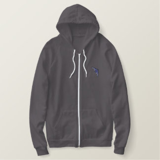 B-2 Stealth Bomber Embroidered Hoodie