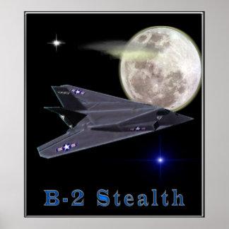 b-2 stealth bomber poster