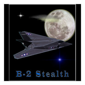B-2 Stealth Bomber Posters