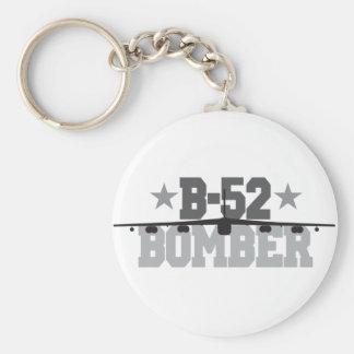 B-52 Bomber Basic Round Button Keychain