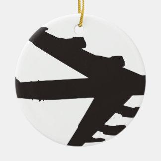 B-52 Bomber Ceramic Ornament