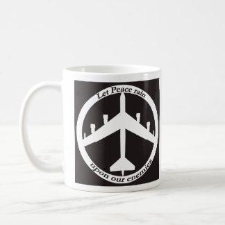 B-52 Peace Classic White Coffee Mug