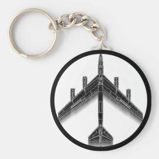 B-52 Peace Keychain