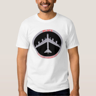 B-52 Peace The Old Fashioned Way, Bottom View T Shirt
