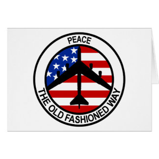 B-52 Stratofortress Greeting Card
