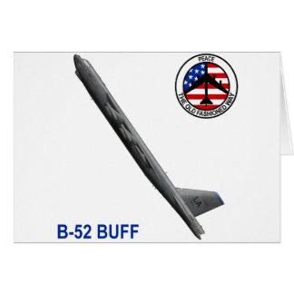 B-52 Stratofortress Tarjeta De Felicitación