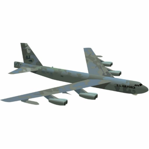 B-52 Stratofortress Wall Mounted Photo Sculpture