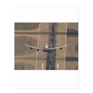 B-747 Hi-Perf Take-off Postcard