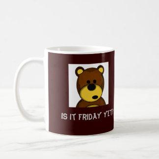 b-9 is it friday yet mug