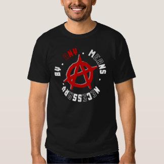 B.A.M.N Anarchy T-shirt