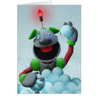 B.A.R.K. Christmas card