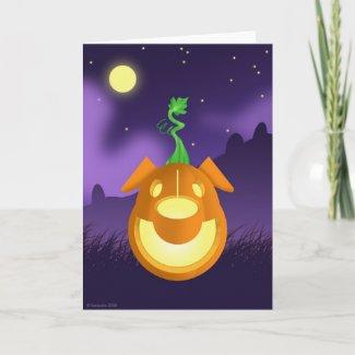 B.A.R.K. Halloween Card card