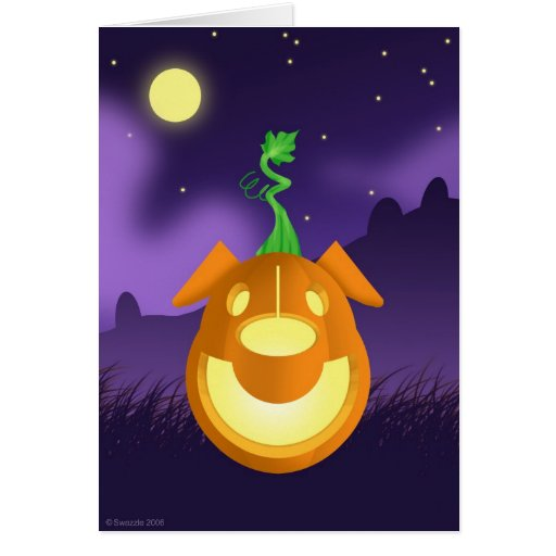 B.A.R.K. Tarjeta de Halloween