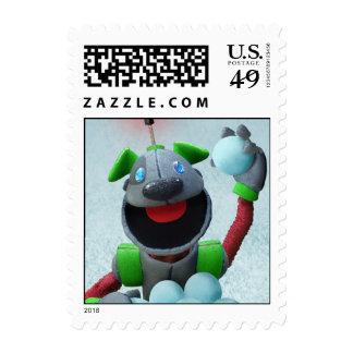 B.A.R.K. the Christmas Dog Stamp