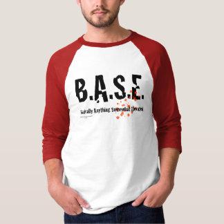 B.A.S.E. Jumping Skydiver T-Shirt