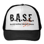 B.A.S.E. Jumping Skydiver Trucker Hat