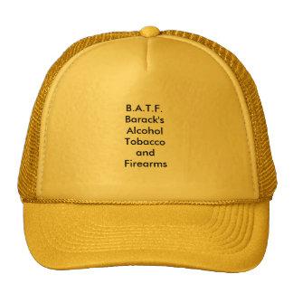 B.A.T.F. ¿- Tabaco y armas de fuego del alcohol de Gorras De Camionero