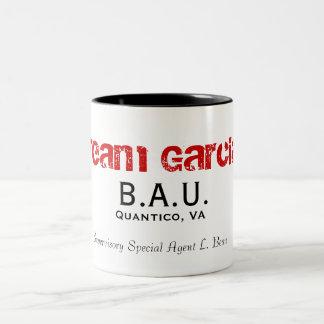 B.A.U., Quantico, VA, Supervisory Special Agent... Two-Tone Coffee Mug