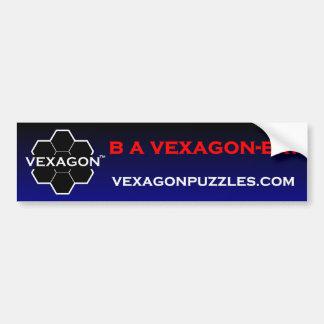 B A Vexagon-er Bumper Sticker