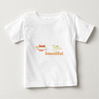 B Adjectives to Describe you Baby T-Shirt