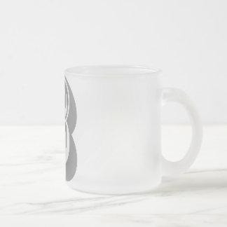 B Alphabet Letter Tee Coffee Mug