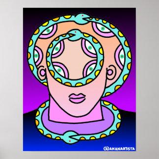 (b)ananartista - Ouroboros il Signore dello spazio Posters