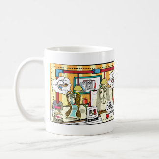 """B and BookMarkSally """"The date was off to..."""" Coffee Mug"""