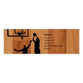 B-ball Double-Sided Mini Business Cards (Pack Of 20)