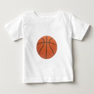 B-Ball de los regalos del tema del baloncesto de Tshirt