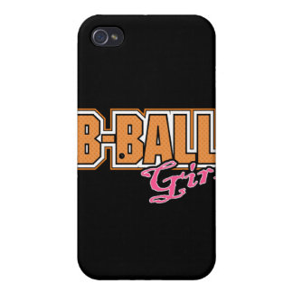 b-ball girl basketball design iPhone 4/4S cases