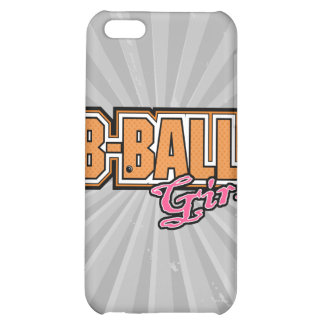 b-ball girl basketball design iPhone 5C cases