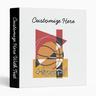 B-Ball Hoops T-shirts and Gifts Binder
