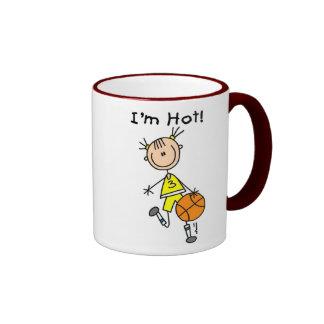 B-Ball I'm Hot Ringer Mug