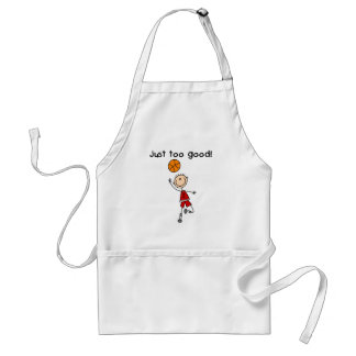 B-Ball Just Too Good Adult Apron
