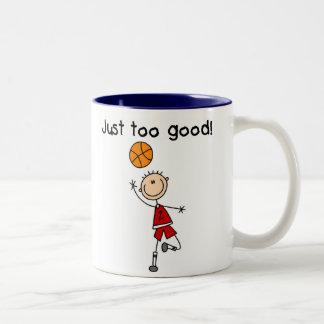 B-Ball Just Too Good Two-Tone Coffee Mug