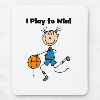 B-Ball Play to Win Mouse Pad