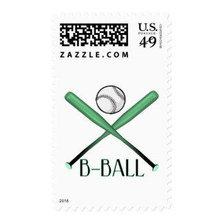 B-BALL POSTAGE STAMP