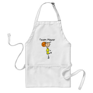 B-Ball Team Player Tshirts and Gifts Adult Apron