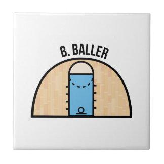 B. Baller Azulejo Cuadrado Pequeño