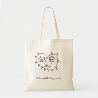 B Beautiful The Way You Are Tote Bag