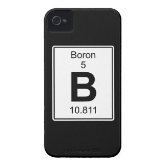 B - Boron Case-Mate iPhone 4 Case