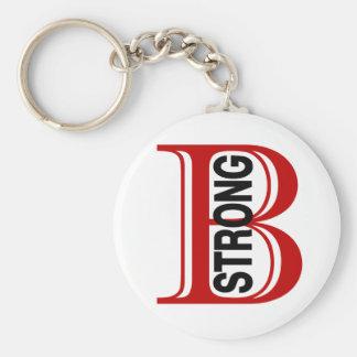 B Boston fuerte Llaveros Personalizados