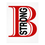 B Boston fuerte Membrete A Diseño