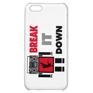 B Boy Boombox Robot Break It Down iPhone 5C Cases