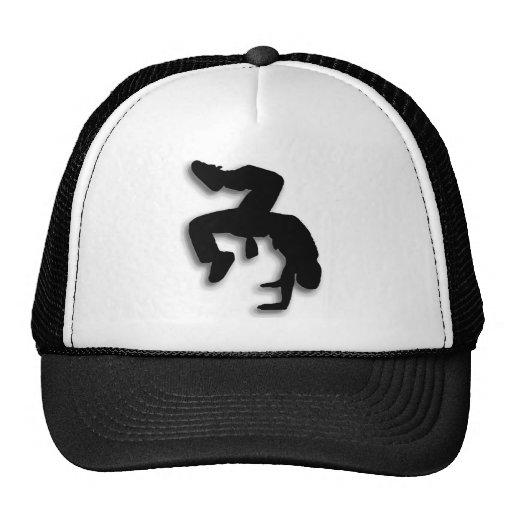 B-boy breakdancer trucker hat